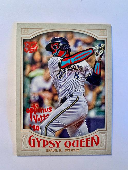 Ryan Braun Topps Gypsy queen 2016 Milwaukee Brewers