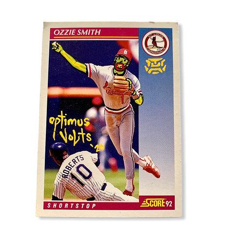 Ozzie Smith score 1992 St. Louis Cardinals