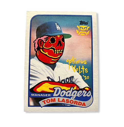 Tommy Lasorda Topps 1989 Los Angeles Dodgers