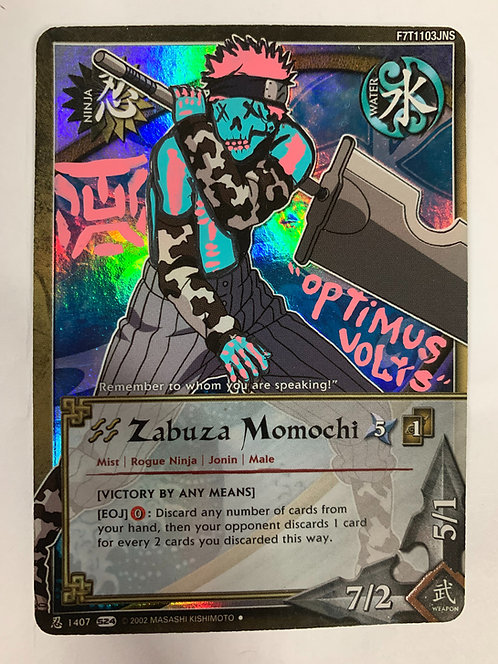 Naruto Zabuza Momochi Dia Delos Muertos card