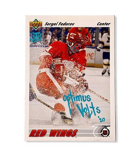Sergei Fedorov Upper Deck Detroit red wings