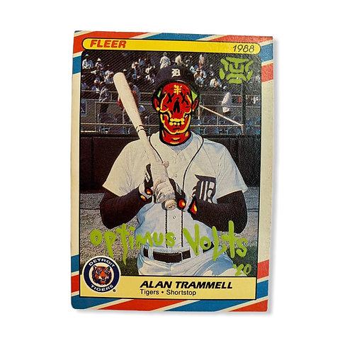 Alan Trammell Fleer 1988 Superstars Detroit Tigers