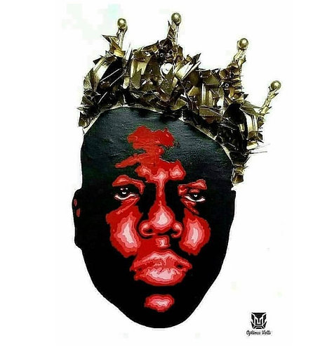 Notorious B.I.G. King Print and Signed