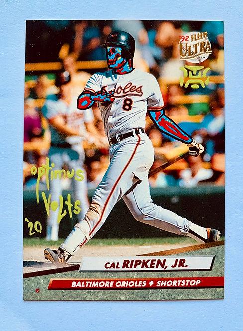 Cal Ripken Jr. Fleer ultra 1992 Baltimore orioles