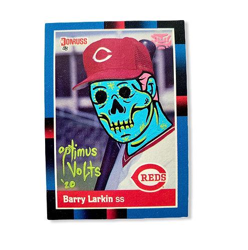 Barry Larkin Donruss 1988 Cincinnati Reds