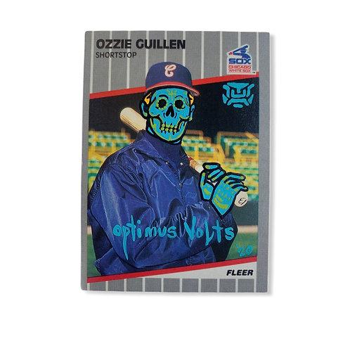 Ozzie Guillen Fleer 1989 Chicago White Sox