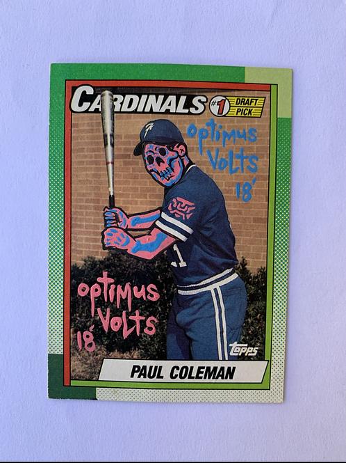 Paul Coleman Topps 1990 St. Louis Cardinals