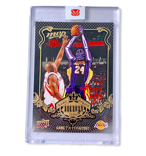 Kobe Bryant 1/1 MVP 2008 upper deck Los Angeles Lakers