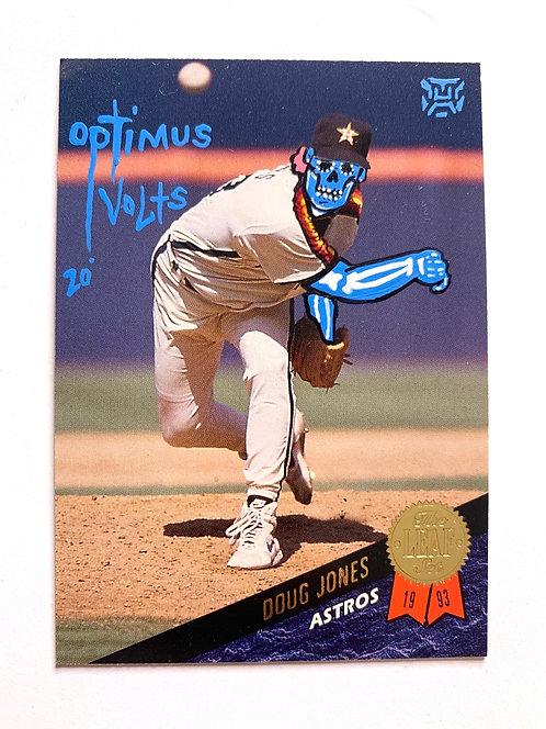 Doug Jones leaf 1993 Houston Astros