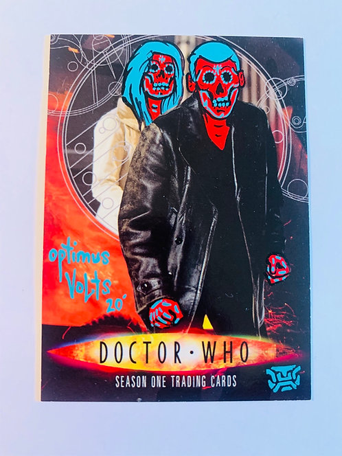 Doctor Who 2007 inkworks Promo card San Diego comic con