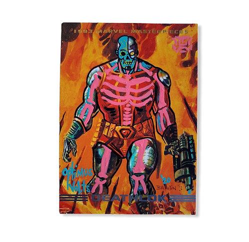 Deathlok Skybox 1993 marvel masterpieces