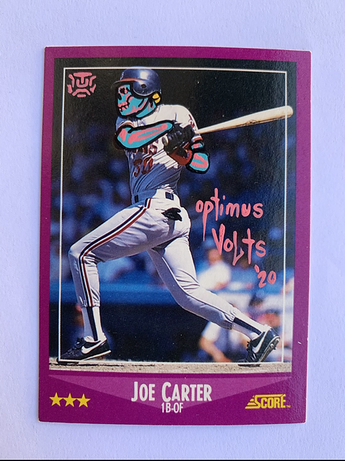 Joe Carter Score 1988 Cleveland Indians