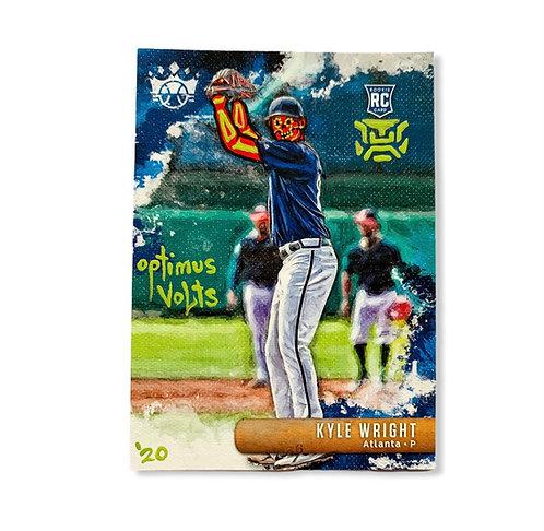 Kyle Wright Panini diamond kings Atlanta Braves