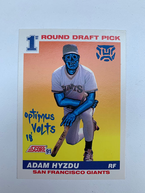 Adam Hyzdu Score 1991 San Francisco Giants