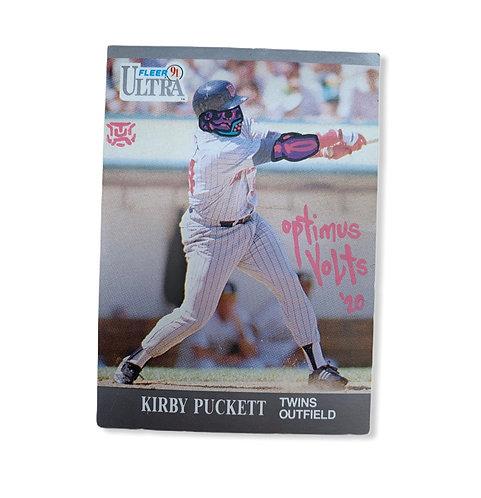 Kirby Puckett Fleer ultra 1991 Minnesota twins