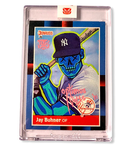 Jay Buhner 1/1 RC 1988 Donruss New York Yankees