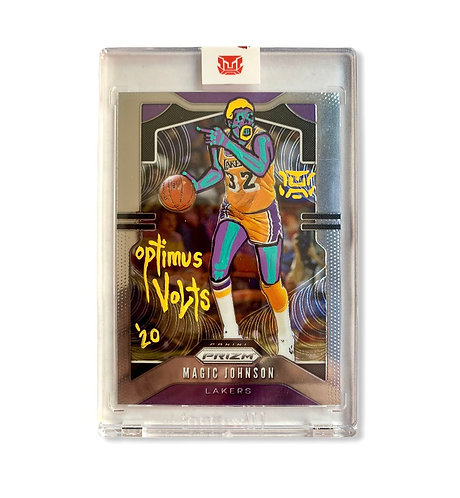 Magic Johnson Panini prizm 2019–20