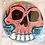 Thumbnail: Skull Button pink