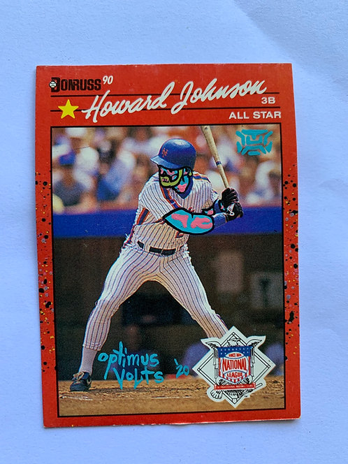 Howard Johnson Donruss 1990 New York Mets