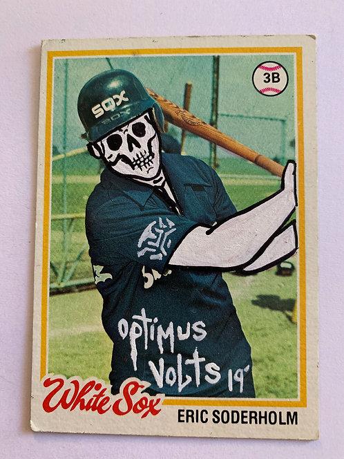 Eric Soderholm Topps 1978 Dia Delos Muertos baseball card