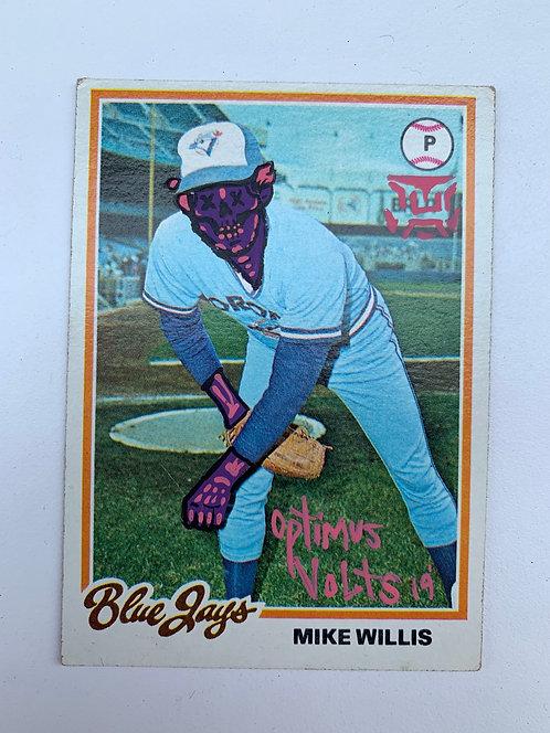 Mike Willis Topps 1978 Toronto Blue Jays