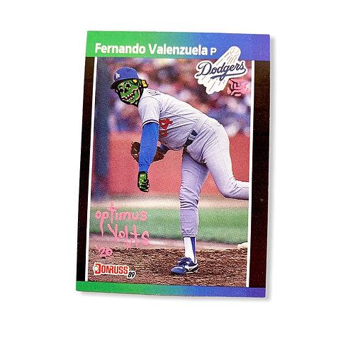 Fernando Valenzuela Donruss 1989 Los Angeles Dodgers