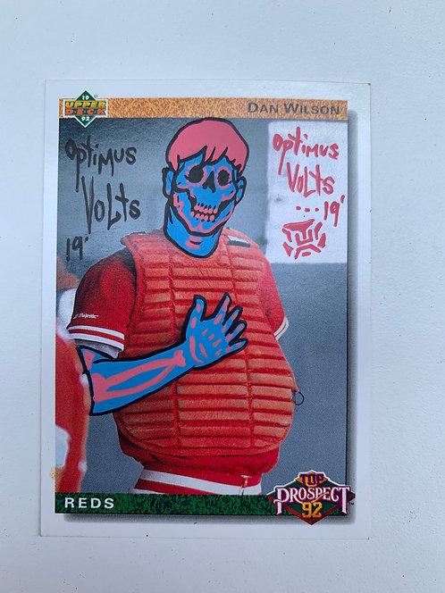 Dan Wilson Upper deck 1992 Cincinnati Reds