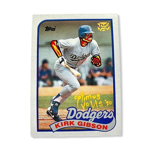 Kurt Gibson 1989 tops Los Angeles Dodgers