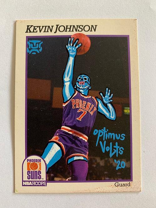 Kevin Johnson 1991 NBA hoops phoenix suns