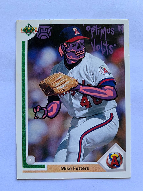 Mike Fetters Upper deck 1991 Anaheim Angels