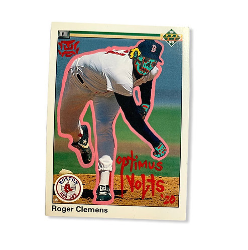 Roger Clemens upper deck 1990 Boston Red Sox