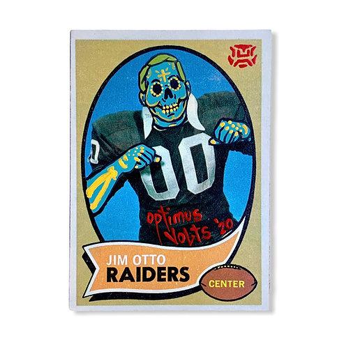 Jim Otto topps Oakland Raiders