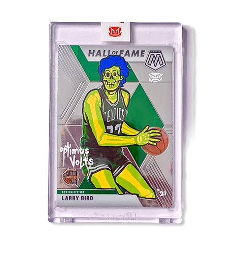 Larry Bird Panini 2019-20 Mosaic Boston Celtics