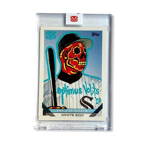 Bo Jackson Topps 1993 Chicago White Sox 1/1 Sticker seal
