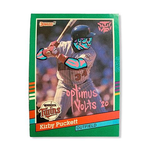 Kirby Puckett Donruss 1991 Minnesota twins