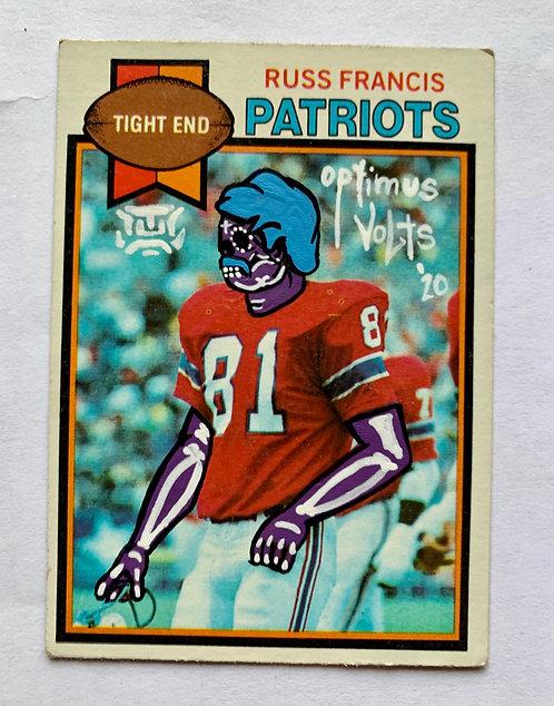 Russ Francis 1979 tops New England patriots