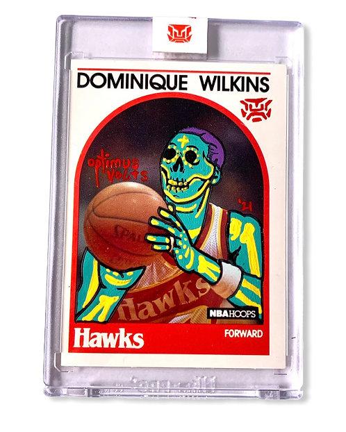 Dominique Wilkins 1/1 Hoops 1989 Atlanta Hawks