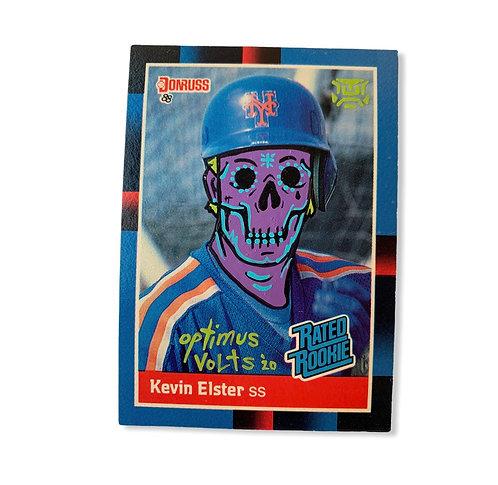Kevin Elster Donruss 1988 New York Mets