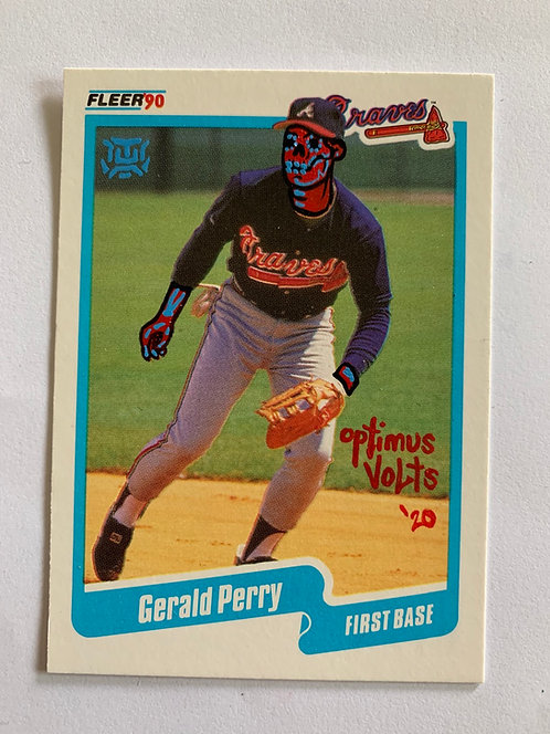 Gerald Perry For the year 1990 Atlanta Braves