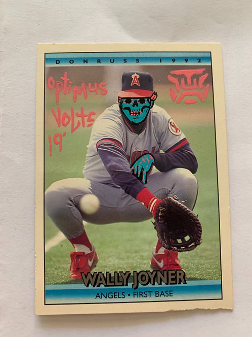 Donruss 1992 Wally Joyner Angels