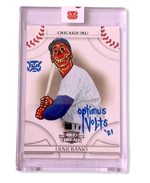 Ernie Banks 1/1 2008 Donruss Chicago cubs