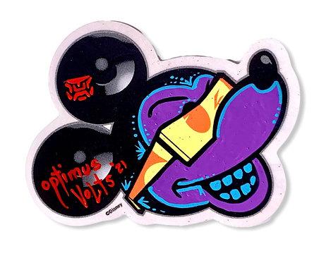 Mickey Mouse Dia Delos Muertos 1/1 Sticker