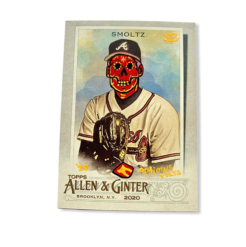 John Smoltz Topps 2020 Allen & Ginter Atlanta Braves