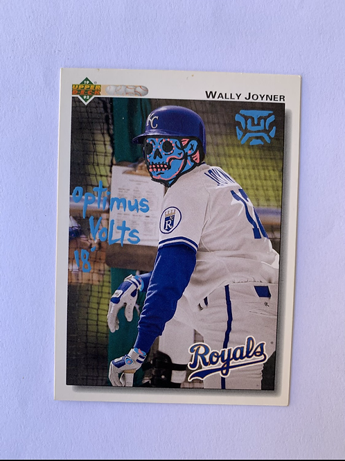 Wally Joyner upper deck 1992 Kansas City Royals