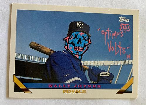 Wally Joyner Topps 1993 Kansas City Royals