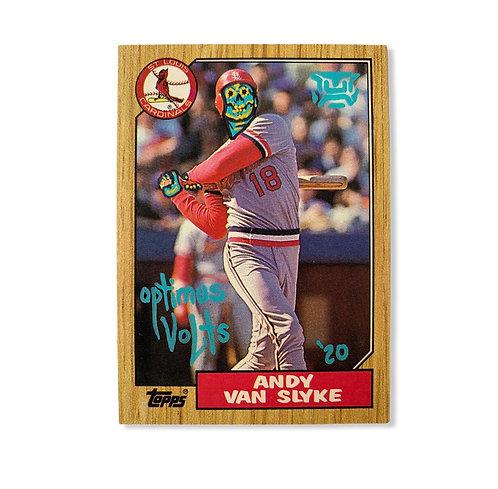 Andy van slyke Topps 1987 St. Louis Cardinals