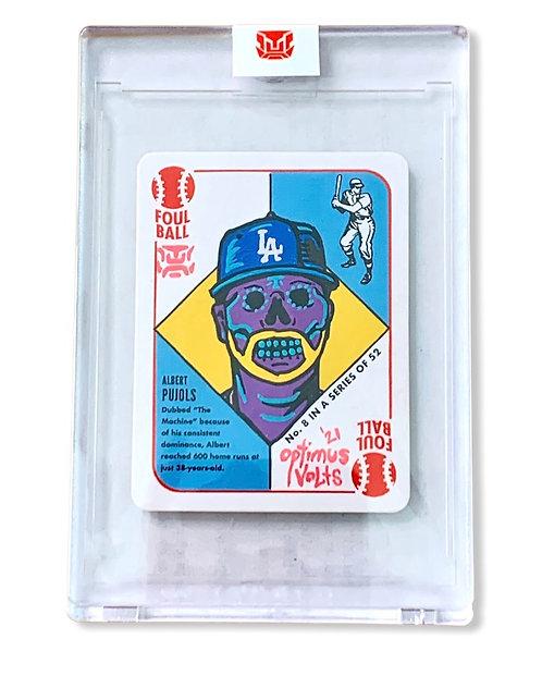 Albert Pujols 1/1 1951 Topps Blake Jamison 2021 Los Angeles Dodgers