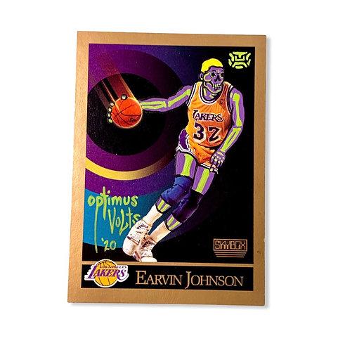 Earvin magic Johnson Skybox Los Angeles Lakers