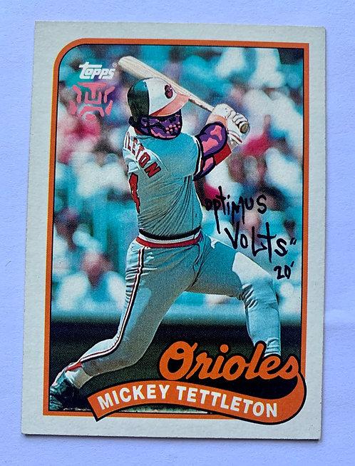 Mickey Tettleton Topps 1989 Baltimore orioles