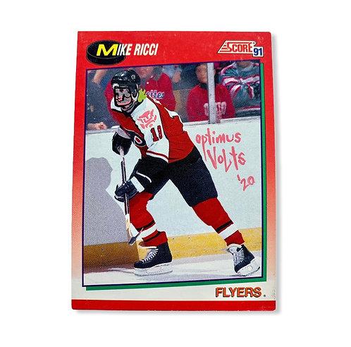 Mike Ricci Score 1991 Flyers